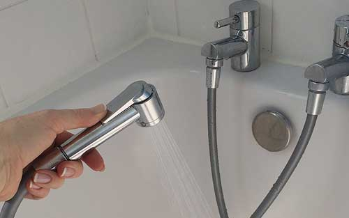 Water saving taps to shower device
