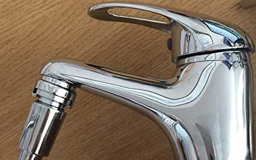 Turn your mixer tap into an instant shower